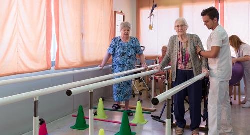 fisioterapia rehabilitación personas mayores